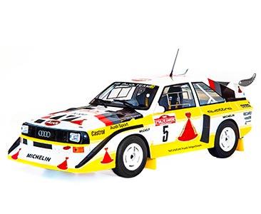 Fascículo 18 + Audi Sport Quattro S1 - 1985 - W. Röhrl