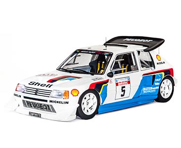 Fascículo 19 + Peugeot 205 T16 E2 - 1986 - B. Saby