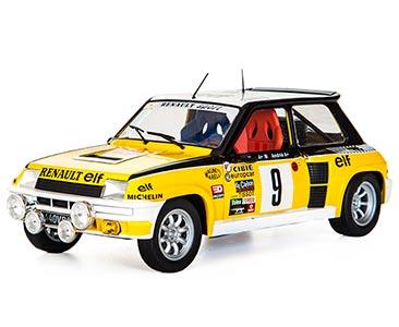 Fascículo 21 + Renault 5 Turbo - 1981 - J. Ragnotti