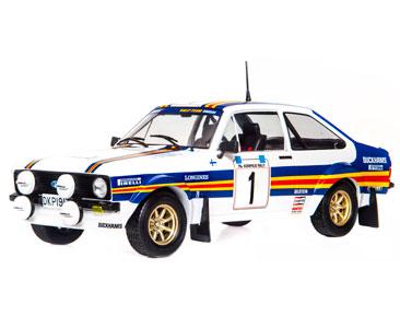 Fascículo 26 + Ford Escort RS 1800 MK II - 1981 - A. Vatanen