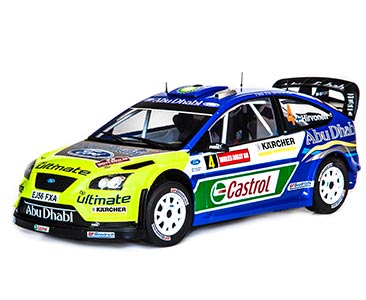Fascículo 27 + Ford Focus RS WRC - 2007 - M. Hirvonen