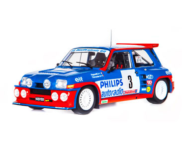 Fascículo 29 + Renault 5 Maxi Turbo - 1985 - Jean Ragnotti