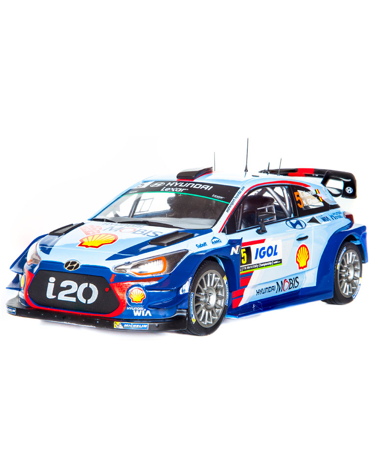 Fascículo 32 + Hyundai i20 Coupé WRC - 2017 - T. Neuville