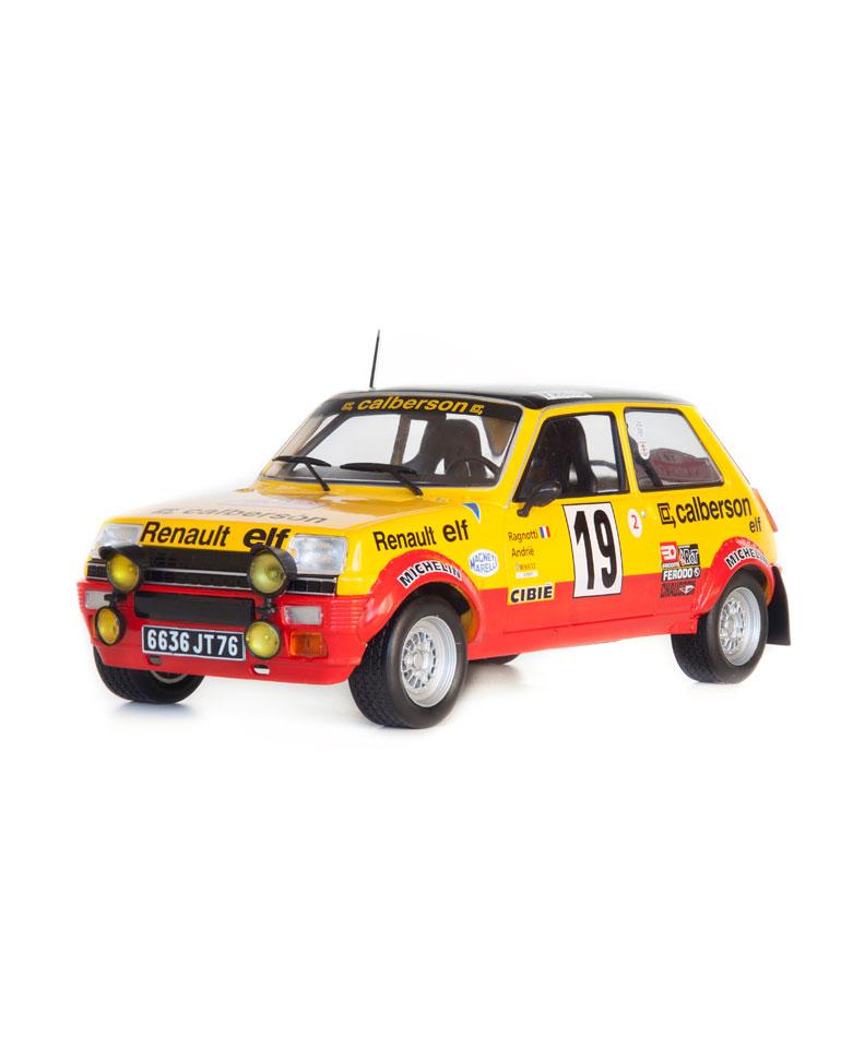Fascículo 34 + Renault 5 Alpine - 1978 - J. Ragnotti