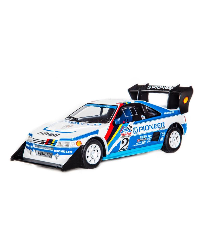 Fascículo 38 + Peugeot 405 T16 Pikes Peak - 1988 - A. Vatanen