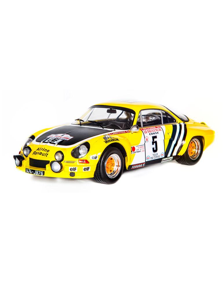 Fascículo 39 + Alpine-Renault A110 1800 - G. Larrousse - 1975