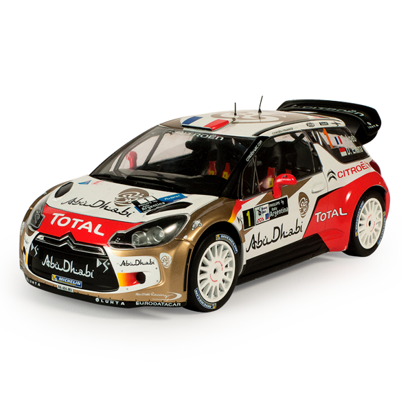 Miniaturas de coches de rally