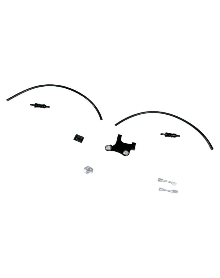 Fascículo 48 + Piezas del bastidor y cableado de las sondas lambda