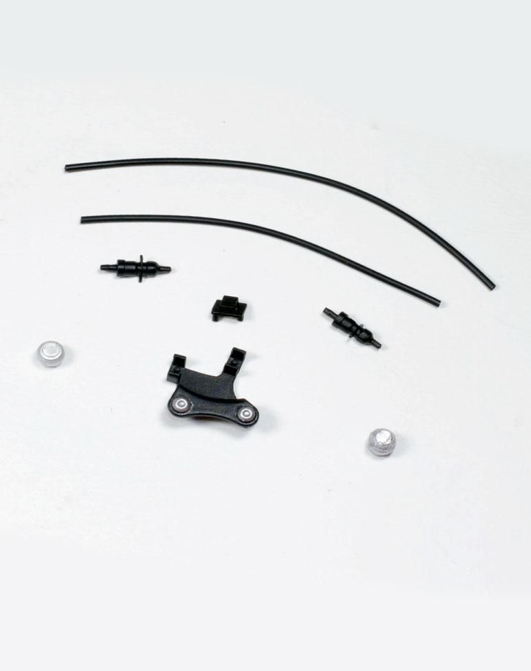 Fascículo 51 + Piezas del bastidor y cableado de las sondas lamba
