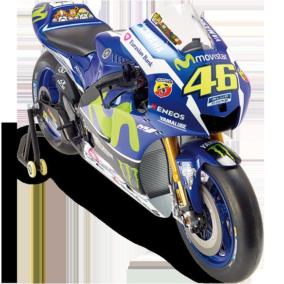 Construye la moto de Valentino Rossi