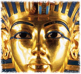 La máscara funeraria de Tuthnkamón