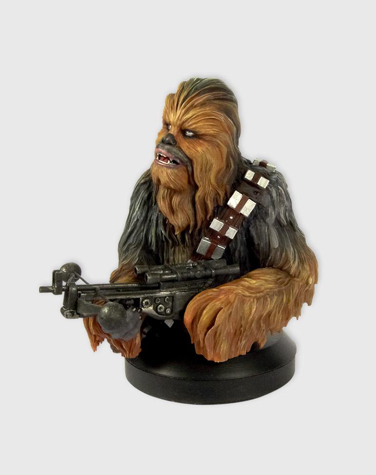 Fascículo 5 + Busto Chewbacca