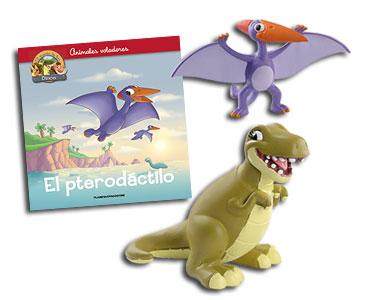 Libro 11: El pterodáctilo + Pterodáctilo + T-Rex