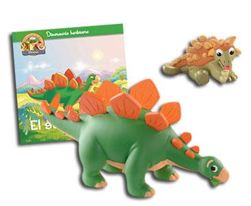 Libro 5: El stegosaurio + Stegosaurio + Anquilosaurio bebé