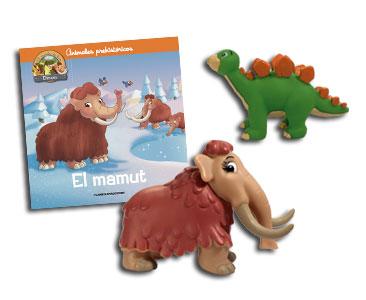 Libro 4: El mamut + Mamut + Stegosaurio bebé