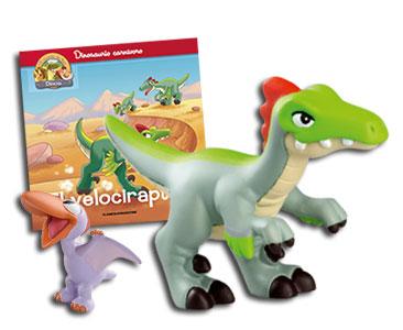 Libro 7: El velociraptor + Velociraptor + Pterodáctilo bebé
