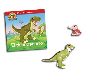 Libro 3: El tiranousario + T-Rex + Mamut bebé