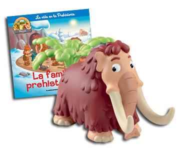 Libro 8: La familia prehistórica + Mamut papá + Palmera (parte superior)