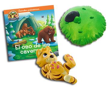 Libro 16: El oso de las cavernas + Smilodonte bebé + Caverna (parte 4)