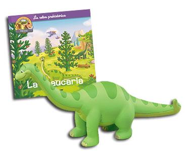 Libro 20: La araucaria + Brontosaurus papá