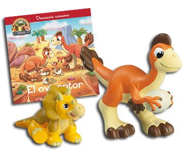 Libro 21: El oviraptor + Oviraptor + Triceratops bebé