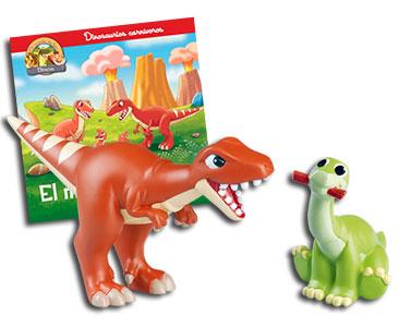 Libro 22: El megalosaurio + Megalosaurio + Brontosaurio bebé