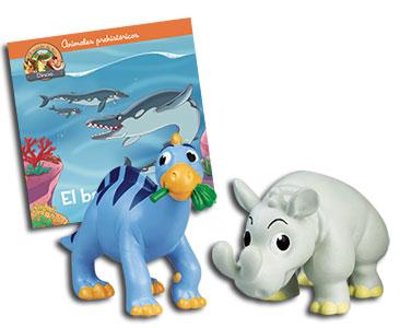 Libro 33: El basilosaurio + Iguanodon papá + Brontoterio bebé