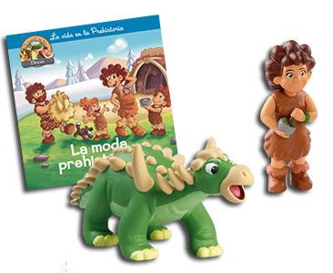 Libro 34: La moda prehistórica + Sauropelta papá + Mamá humana