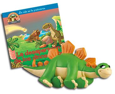 Libro 57: La desaparición de los dinosaurios + Stegosaurio mamá