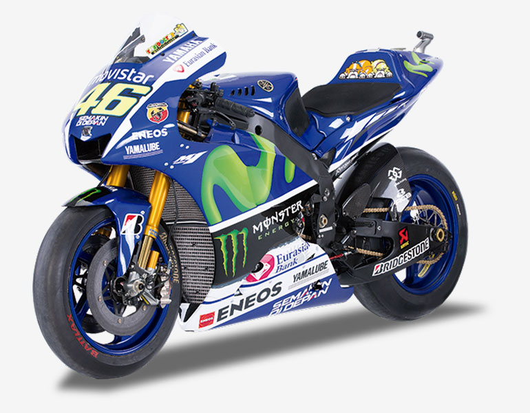 Valentino Rossi 2015 • Yamaha YZR-M1 + fascículo 1