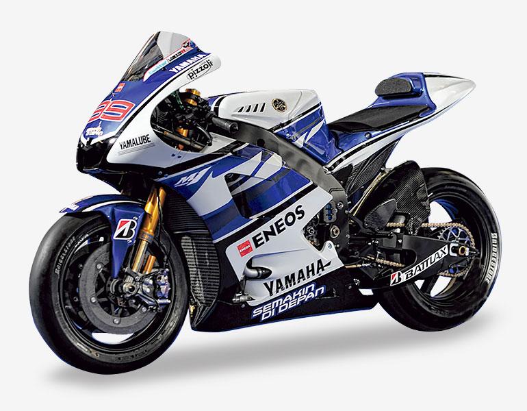 Jorge Lorenzo • Yamaha YZR M1(2012 ) + fascículo 3