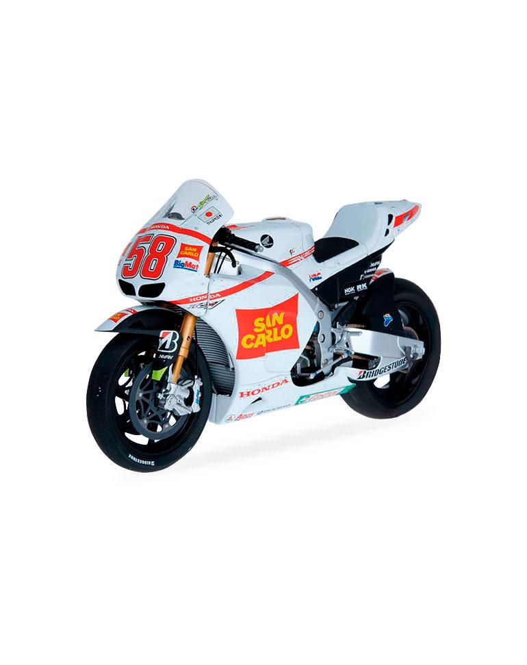 Marco Simoncelli 2011 • Honda RC212V + fascículo 7