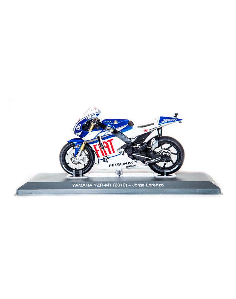 Jorge Lorenzo 2010 • Yamaha YZR-M1 + fascículo 10