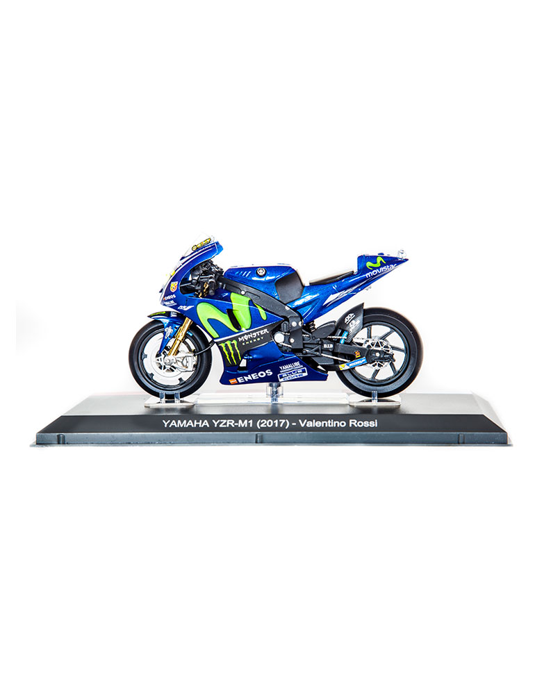 Valentino Rossi 2017 • Yamaha YZR-M1 + fascículo 12