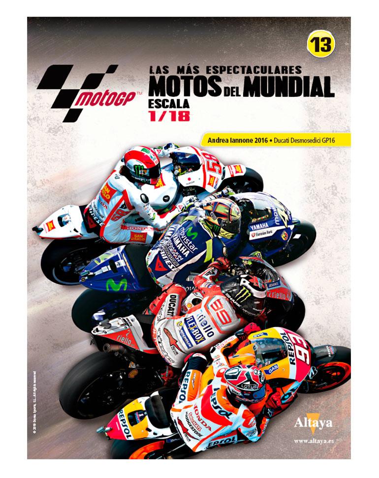 Andrea Iannone 2016 • Ducati Desmosedici GP16 + fascículo 13