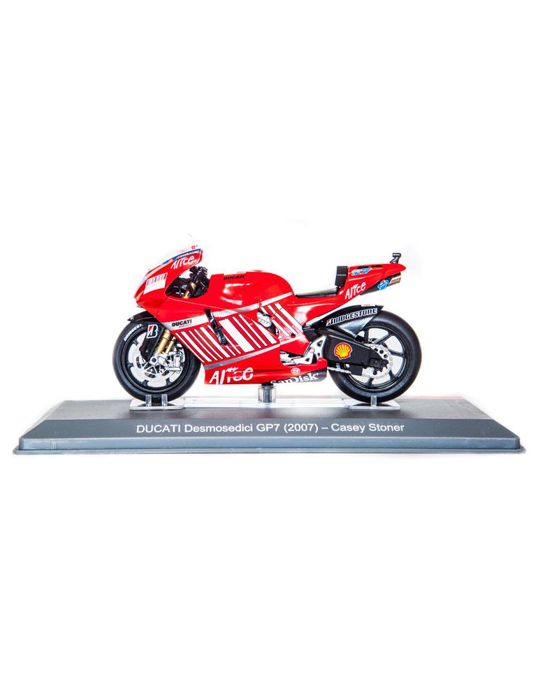 Casey Stoner 2007 • Ducati Desmosedici GP + fascículo 15