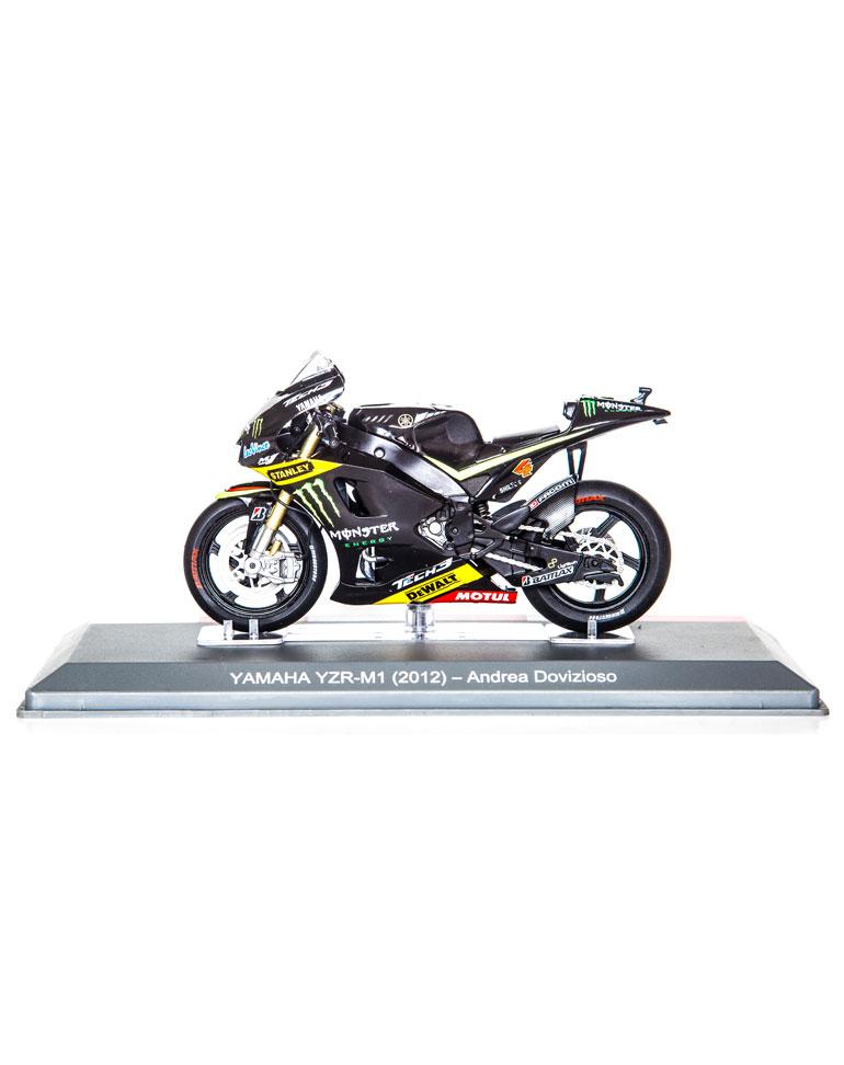 Andrea Dovizioso 2012 • Yamaha YZR-M1 + fascículo 16