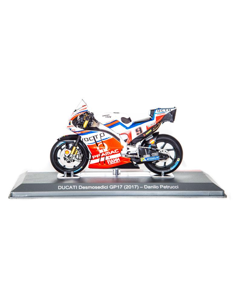 Danilo Petrucci 2017 • Ducati Desmosedici GP17 + fascículo 17
