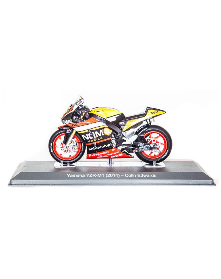 Colin Edwards 2014 • Yamaha YZR-M1 + fascículo 18
