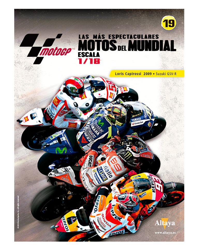 Loris Capirossi 2009 • Suzuki GSV-R + fascículo 19