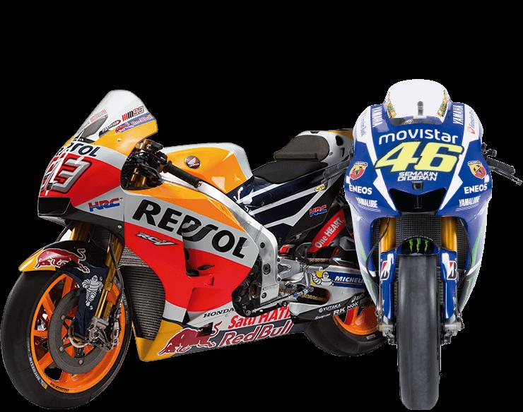 Moto GP: Colección de motos a escala