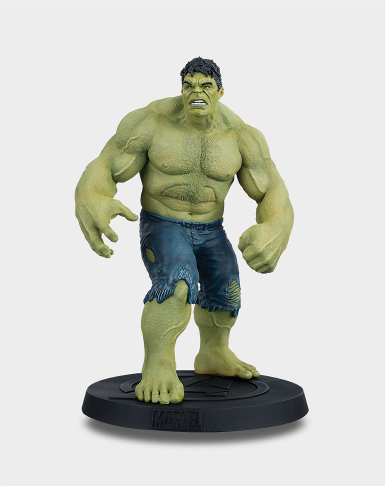Fascículo 3 + Figura Hulk