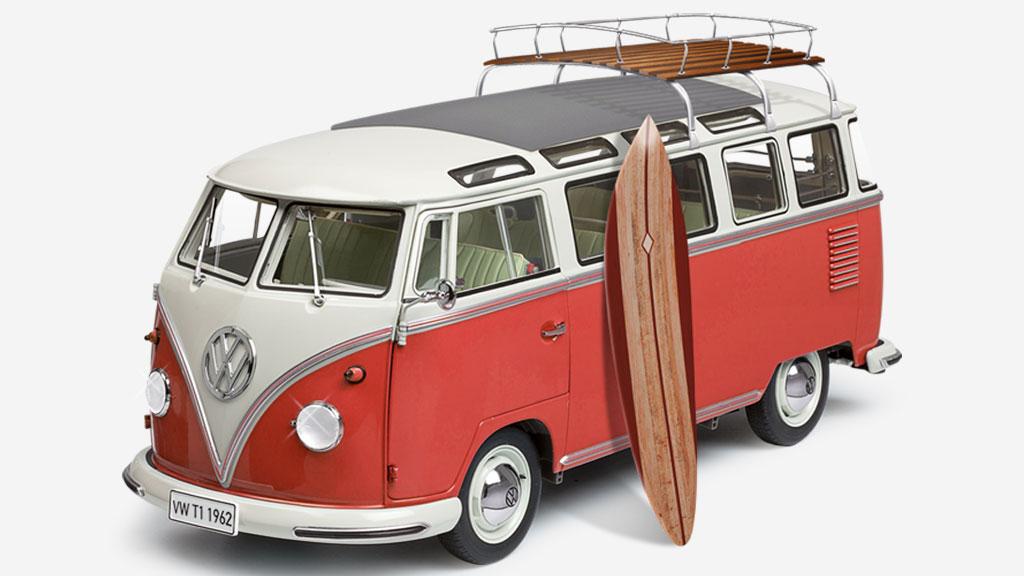 La legendaria furgoneta de Volkswagen