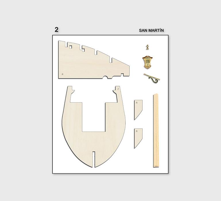 Fascículo 2 + piezas