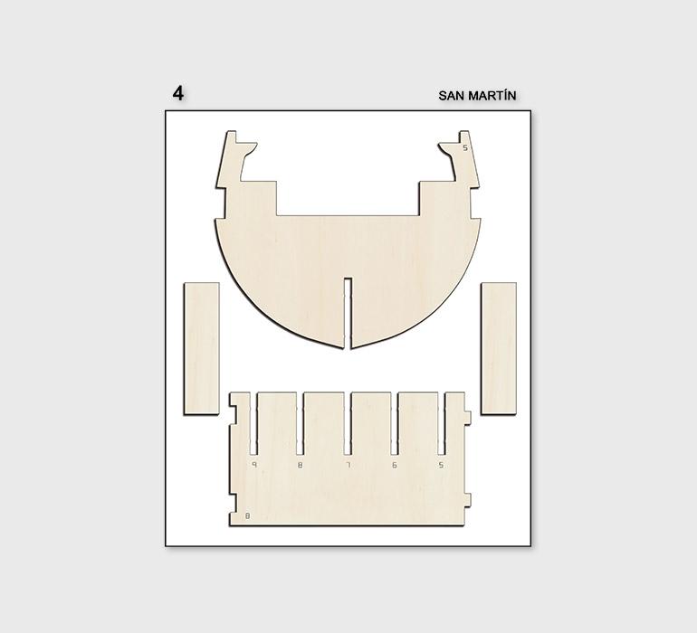 Fascículo 4 + piezas