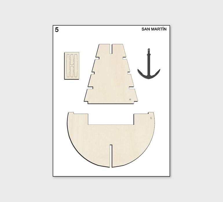 Fascículo 5 + piezas