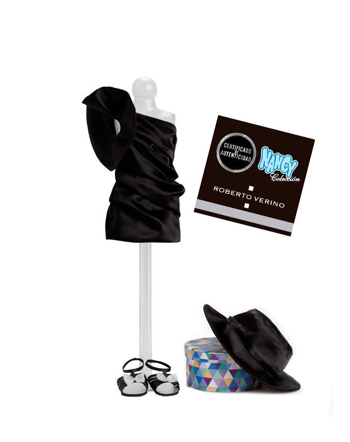 Fascículo 2 + Vestido ROBERTO VERINO + Zapatos con lazo + Sombrero