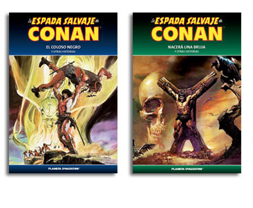 La espada salvaje de Conan volumen 2 + La espada salvaje de Conan volumen 3