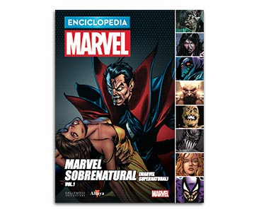 Libro 42: MARVEL SOBRENATURAL VOLUMEN 1
