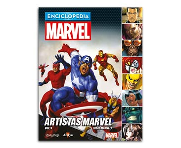 Libro 62: ARTISTAS MARVEL VOL.3